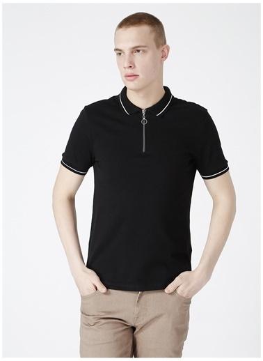 Limon Company Limon Erkek Siyah Polo Yaka T-Shirt Siyah